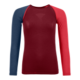 ORTOVOX - 120 Comp Light Longsleeve Damen dark blood