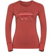 Odlo - Alliance Top Crew Women baked apple