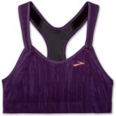 Brooks - Rebound Racer Sports Bra Women berry jacquard