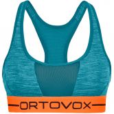 ORTOVOX - 185 Rock´n´Wool Sport Top Damen aqua blend