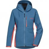 Pyua - Gorge Hardshell Jacket Women stellar blue grapefruit