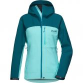 Pyua - Gorge Hardshell Jacket Women petrol blue pool blue