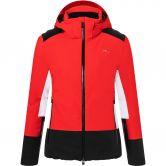 KJUS - Laina Ski Jacket Women fiery red black
