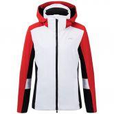 KJUS - Laina Ski Jacket Women white fiery red