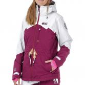 Picture - Weekend Jacke Damen burgundy white