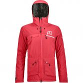 ORTOVOX - 2L Swisswool Andermatt Jacket Damen hot coral