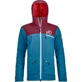 ORTOVOX - 2L Swisswool Andermatt Jacket Damen blue sea