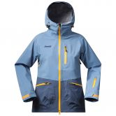 Bergans - Myrkdalen Insulated Jacket Damen dusty light blue night blue desert sun
