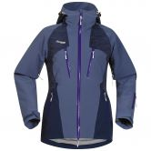 Bergans - Oppdal Insulated Jacket Damen dusty blue navy funky purple