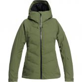 Roxy - Dusk Ski Jacket Women bronze green