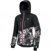 Picture - Seen Ski Jacket Women peonies black