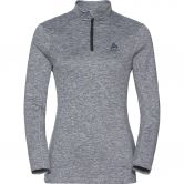 Odlo - Steeze 1/2 Zip Midlayer Women grey melange