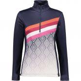 CMP - Carbonium Stretch Sweatshirt Damen asphalt
