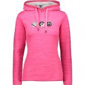 CMP - Fix Hood Hoody Damen pink fluo mel
