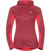 Odlo - Blaze Ceramiwarm Midlayer Women rumba red