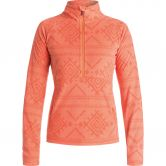 Roxy - Cascade Fleeceshirt Damen windy road camellia