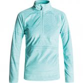 Roxy - Cascade Fleeceshirt Damen aruba blue asta layer print