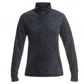 Roxy - Cascade Fleecepullover Damen true black zebra print