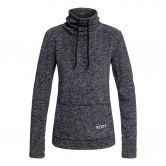 Roxy - Snow Flakes Vibes Fleecepullover Damen charcoal heather