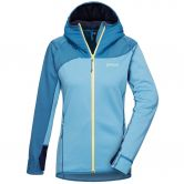 Pyua - Ascend Fleecejacke Damen midnight blue niagara blue
