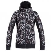 Roxy - Frost Printed Hoodie Jacket Women true black izi