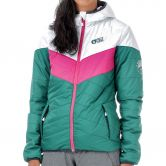 Picture - Chloe Jacke Damen dark green white pink