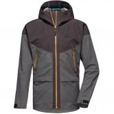 Pyua - Gorge-Y Hardshell Jacket Men almost black grey melange