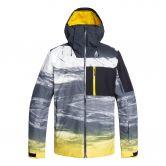Quiksilver - Mission Plus Ski Jacket Men sulphur mapple around