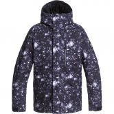 Quiksilver - Mission Prin Ski Jacket Men true black woolflakes