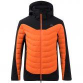 KJUS - Sight Line Skijacke Herren black kjus orange