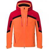 KJUS - Speed Reader Ski Jacket Men kjus orange cu red