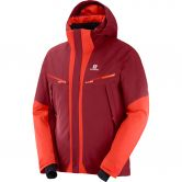 Salomon - Icecool Skijacke Herren biking red fiery red