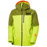 Helly Hansen - Straightline Lifaloft Ski Jacket Men azid lime