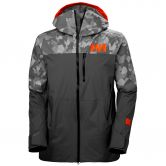 Helly Hansen - Straightline Lifaloft Ski Jacket Men quite shade camo