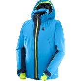 Salomon - Whitezone Hardshell Jacke Herren surf night sky
