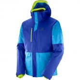 Salomon - Stormtrack Jacke Herren surf the web