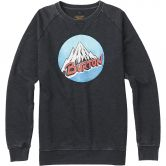 Burton - Retro Mountain Crew Herren true black heather