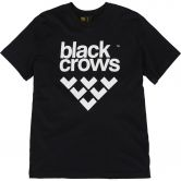 Black Crows - Full Logo Tee T-Shirt Herren schwarz