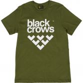 Black Crows - Full Logo Tee T-Shirt Herren olive