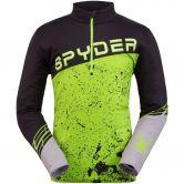 Spyder - Mandate Ski Pullover Men black mojito