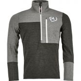 ORTOVOX - Fleece Light Zip Neck Fleecepullover Herren grey blend