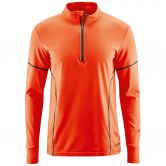 Maier Sports - Alenko Midlayer Men spicy orange