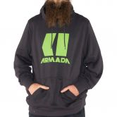 Armada - Icon Hoodie Men black enzyme
