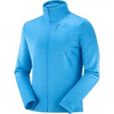 Salomon - Transition Full Zip Midlayer Men blithe heather