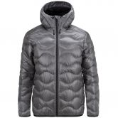 Peak Performance - Helium Kapuzenjacke Herren quiet grey