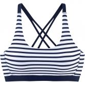 Lascana - Bikini Women white navy stripes