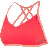 Speedo - Neon Freestyler Top & Brief Bikini Damen pyscho red flash
