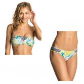 Rip Curl - Tropic Tribe Bandeaubikini Damen solar power