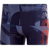 adidas - Graphic Swim Boxers Men tech ink active orange