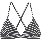 S.Oliver - Triangle Bikini Top Women black white stripes